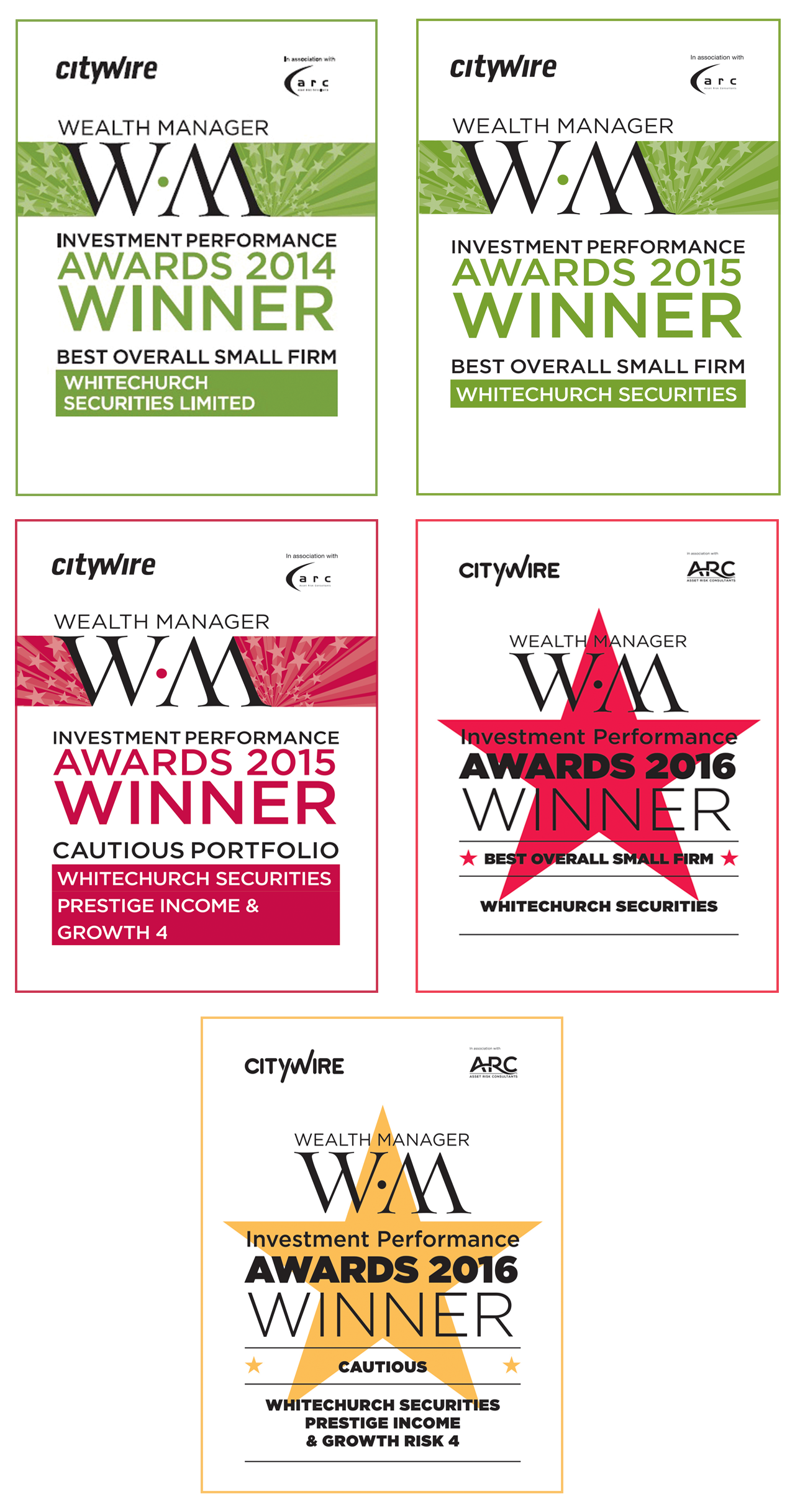 CITYWIRE AWARDS